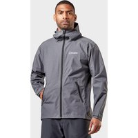 Berghaus Mens Stormcloud Optic Waterproof Jacket  Grey