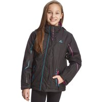 Dare 2B Girls' Waterproof Ponder Ski Jacket, Black