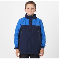 Peter Storm Kids' Mercury Waterproof Jacket, Blue/NVY