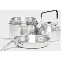Eurohike Family Feast Cook Set, Silver