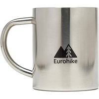 eurohike stainless steel brew mug  silver, silver