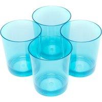 Eurohike Tumbler Glasses (4 Pack), Blue