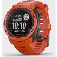 Garmin Instinct GPS Watch, RED/RED
