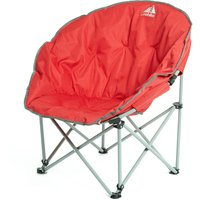 Eurohike Deluxe Moon Chair, Red