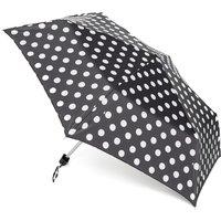 Fulton Mini-Flat 1 Umbrella - Black, Black