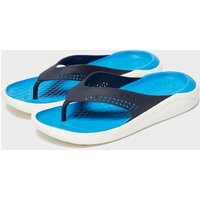 Crocs Men's LiteRide Flips, Navy/NVY