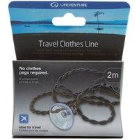 Lifeventure Travel Clothes Line, Black