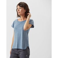 Columbia Womens Trail Shaker Short Sleeve Shirt, Blue