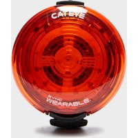 Cateye Sync 40 Wearable Rear Bike Light - Red, RED