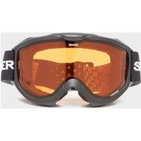Sinner Lake Ridge Ski Goggles, Black