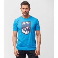 Hi Tec Mens Alps T-Shirt - Blue, Blue