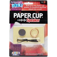 Science Mad Paper Cup Speaker