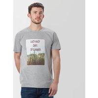 One Earth Men's Lazy Days T-Shirt, MGY/MGY