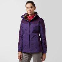 Peter Storm Womens Bowland Waterproof Jacket, Purple