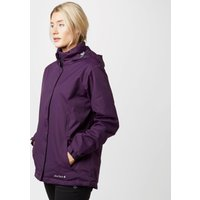Peter Storm Womens Insulated Storm Waterproof Jacket, Purple