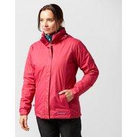 Peter Storm Womens Insulated Storm Waterproof Jacket, Pink