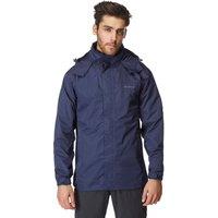 Peter Storm Mens 2 Layer Waterproof Jacket, Navy
