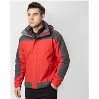 Peter Storm Mens Lakeside 3 in 1 Jacket, Red