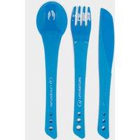 Lifeventure Ellipse Knife, Fork and Spoon Set, Blue