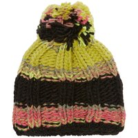 Starling Womens Stripe Bobble Beanie, Multi