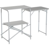 Eurohike Basecamp Kitchen Stand, Silver