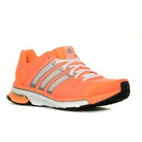 Adidas Womens adistar Boost Shoe, Orange