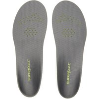 Superfeet Carbon Trim 2 Fit Removable Insoles, Grey