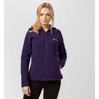 Technicals Womens Element Full-Zip Interest Hooded Fleece, Purple