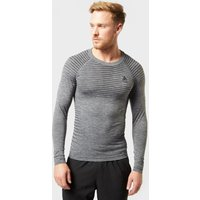 Odlo Men's PERFORMANCE LIGHT Long Sleeve Crew Neck, Grey