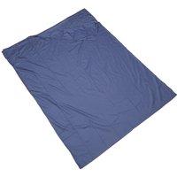 Eurohike Polycotton Sleeping Bag Liner - Double - Blue, Blue