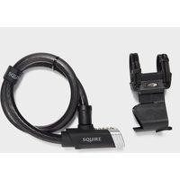 Squire Locks Mako Plus 18900 Bike Lock - Black/Cable, Black/CABLE
