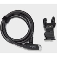 Squire Locks Mako Plus 181800 Cable, Black