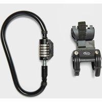 Squire Locks Snaplock 210 Combi Bike Lock - Black/Br, Black/BR