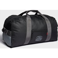 Highlander Cargo 45L Kit Bag, Black