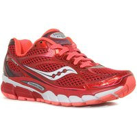 Saucony Womens Ride 7 Running Shoe, Red