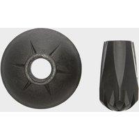Eurohike Trekking Basket And Dlx Rubber Tip - Black/Set, Black/SET