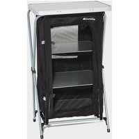 Eurohike 4 Shelf Collapsible Cupboard, Black