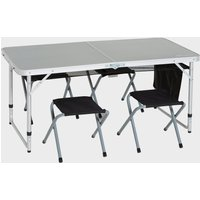 Eurohike 4 Person Picnic Table, Silver