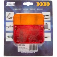 Maypole MP3/38 Replacement Lens, Red