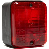 Maypole Rear Surface Mounted Fog Lamp - Red, Red