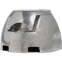 Maypole 12N 7 Pin Aluminium Socket, Silver