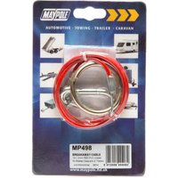 Maypole Breakaway Cable - Red, Red