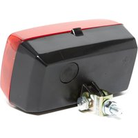 Maypole Fog Lamp with Mounting Bracket, Red