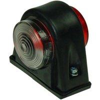 Maypole 12/24v Rubber Side Marker Lamp, Black