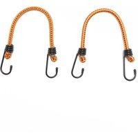 Summit 12ʺ Luggage Elastics - Orange, Orange