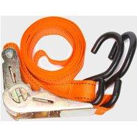 Summit 3.5m Ratchet Strap And Hook - Orange, Orange