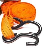Summit 5m Ratch Strap S Hook, Orange