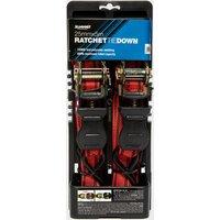Summit 2x Ratchet Tie Down - 25mm x 5m - Red, Red