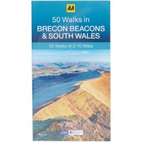 Aa 50 Walks In Brecon Beacons And South Wales, Assorted