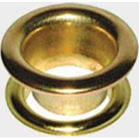 W4 Brass Eyelets 10 Pack, Gold/Gold